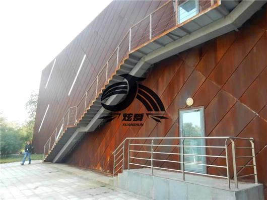 柳州耐候钢板厂家:钢板市场需求旺季不旺出货量急剧减少  耐候钢板有哪些