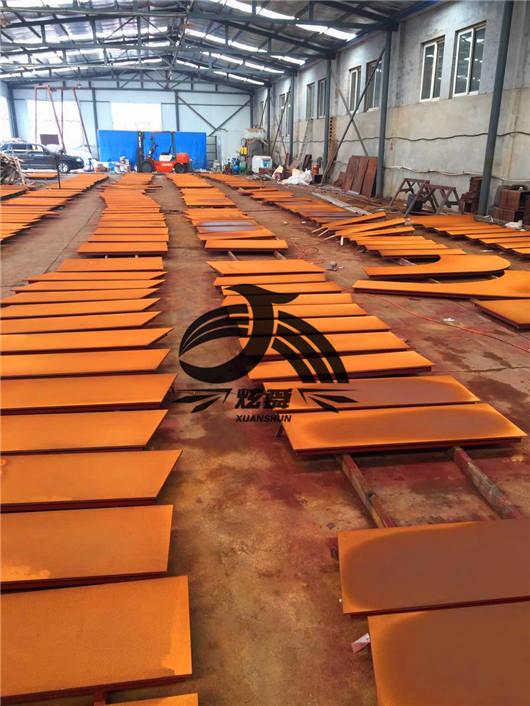 内蒙古雕塑耐候板: 价格出现小幅回升耐候板厂家批发价是多少